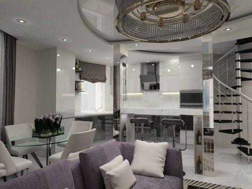Reparație Penthouse și Design Interior