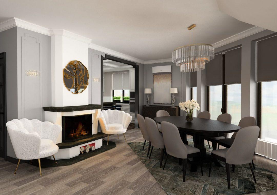 Design Interior si Lucrări de Finisare Casa Vatra