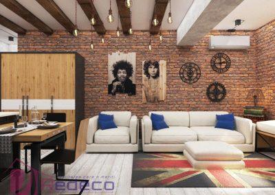 Proiect Design Interior Loft