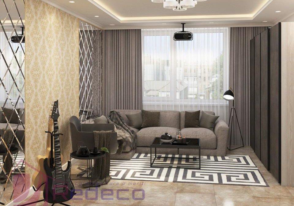 Apartament de 51,7 mp – Stil Contemporan
