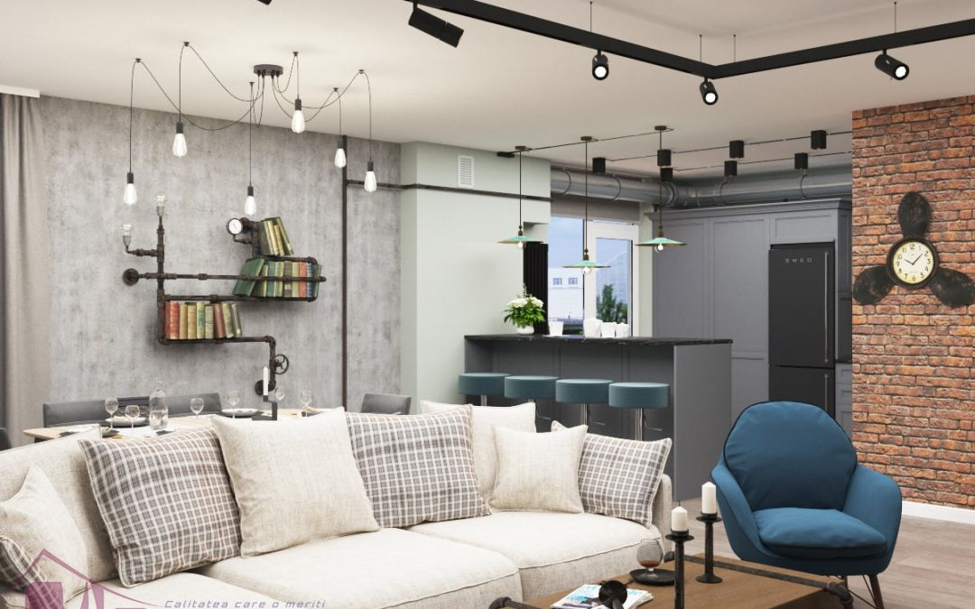 Design Interior Stil Loft